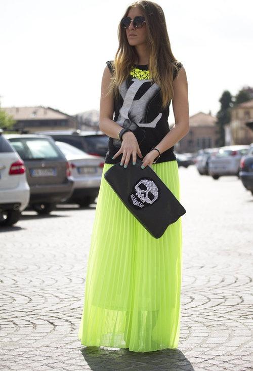 maxi-skirt-trend-neon-style