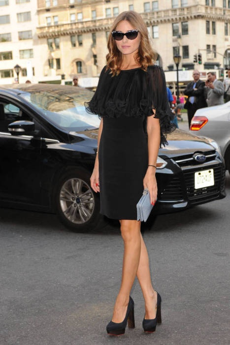 olivia palermo chunky heels Ugly Shoes That Look Great!