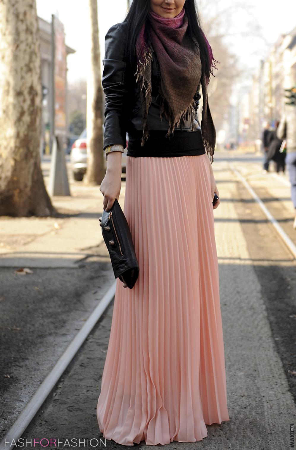 peach-maxi-skirt-look