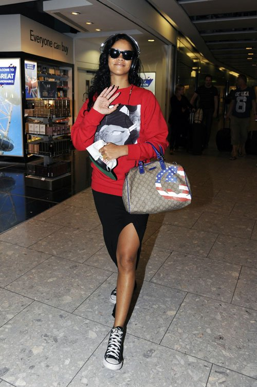 rihanna-maxi-skirt-tennis-shoes