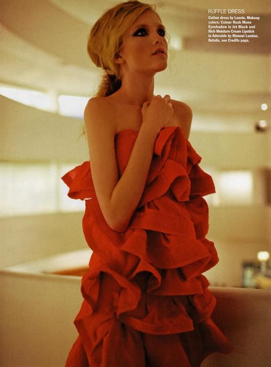 fırfır-elbise