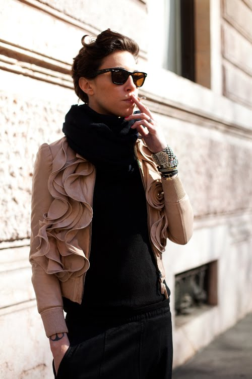 ruffled-leather-jacket-street-style