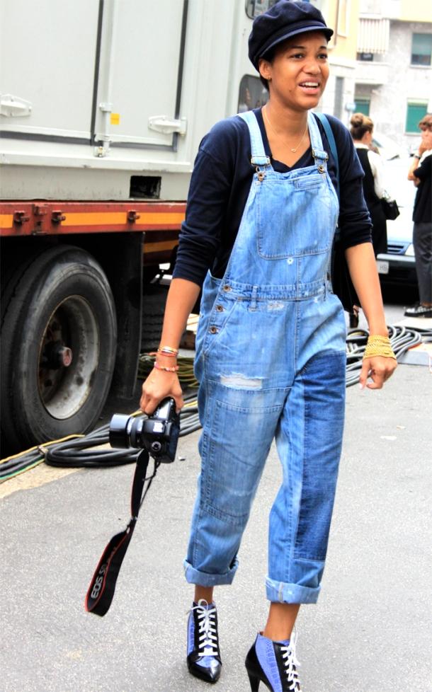 street-style-denim-overalls