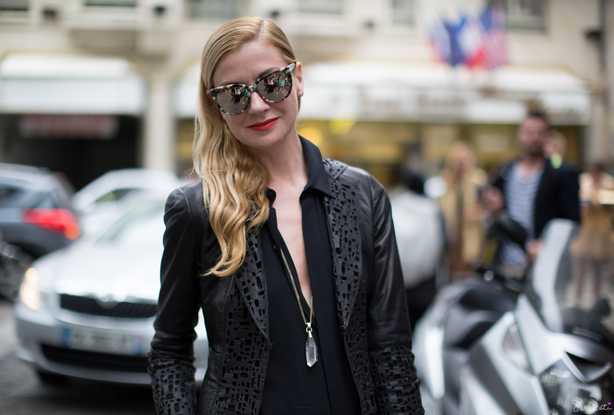 lets talk street style at fashion week � the fashion tag