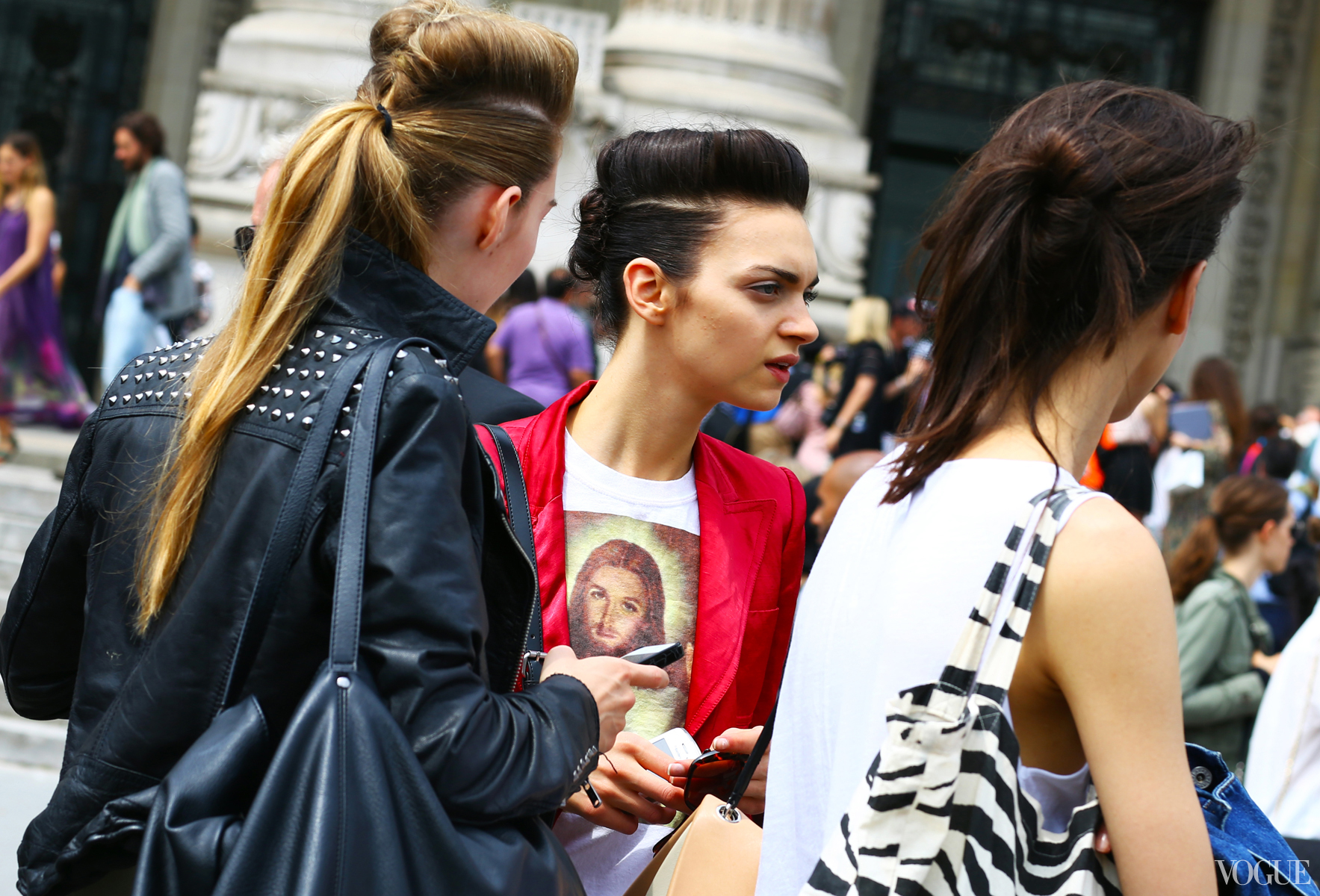 hairstyles street style Lets Talk Street Style At Fashion Week!
