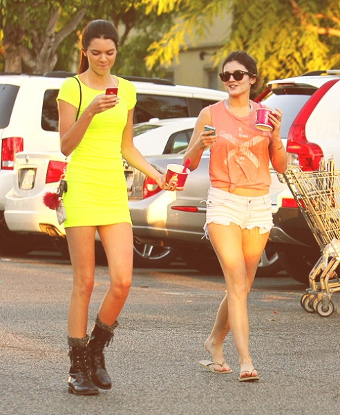 kardashian-neon-mini-dress
