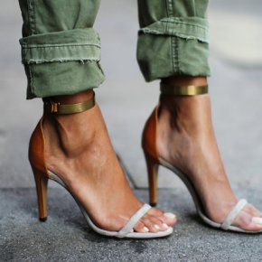 Why Heeled Sandals Are Single (strapped) ThisSeason?