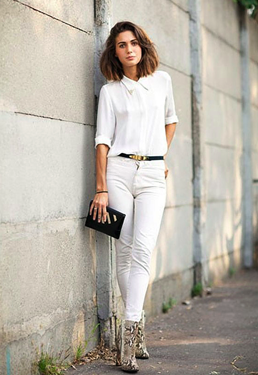 You can leave your shirt on the fashion tag blog for How to get makeup out of white shirt