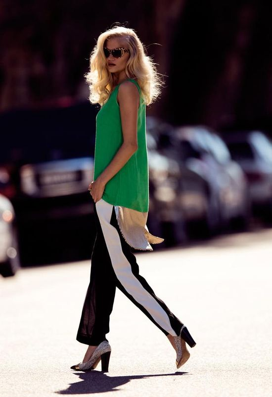 street style long tanktop Tank Tops: Whats Your Style?
