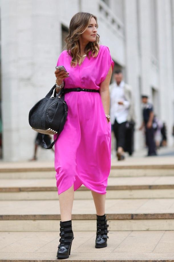 streetstyle-neon-dress