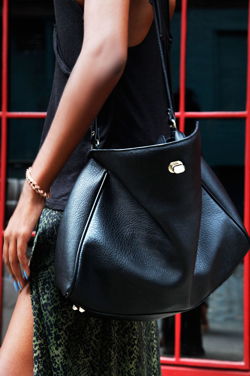 blackbag street style Styling A Black Bag. Is It Really That Easy?