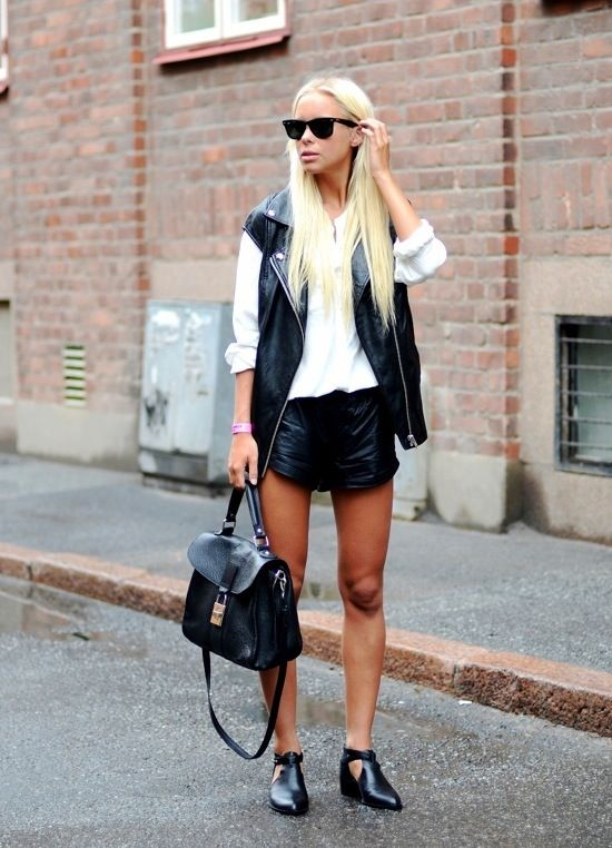 blackbagstreetstyle Styling A Black Bag. Is It Really That Easy?