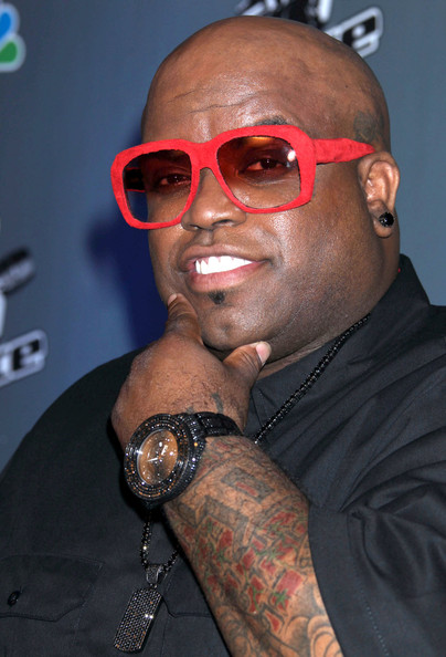 Cee+Lo+Green-red-Sunglasses