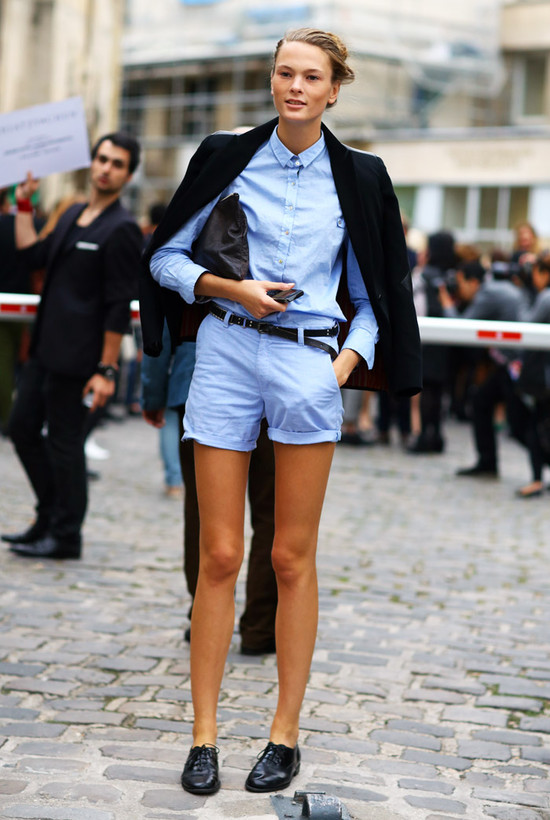 Are Shorts Long Sleeves The Trend The Fashion Tag Blog