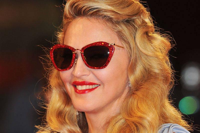 Madonna-Sunglasses-red-frames