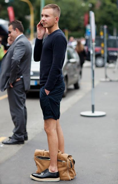 navy-shorts-men-street-style