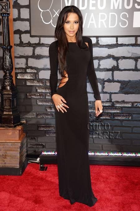 naya-rivera-2013-vma-red-carpet