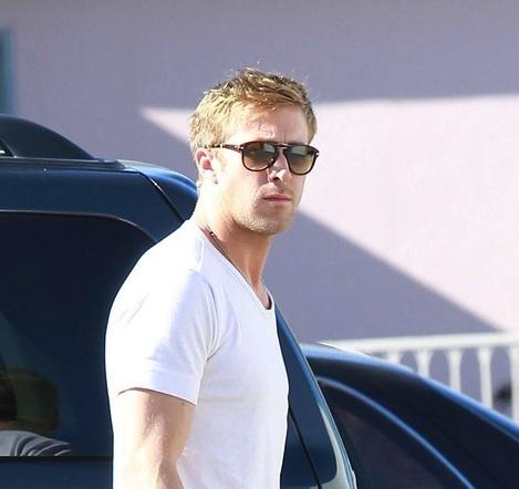 Barefoot Ryan Gosling Leaves His Muay Thai Class