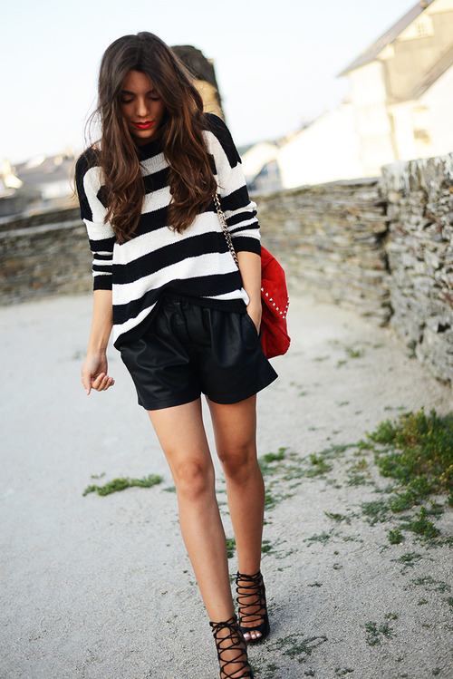 shorts-and-sweater-style