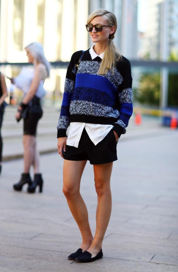 sweater-shorts-look-street-style