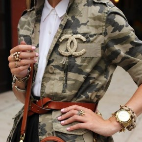 You're In The Army Now. The Military Trend For Fall2013!