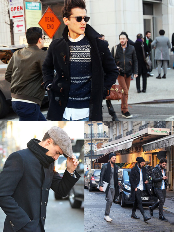 coats men street style What Should MEN Wear This Autumn? 2013 Fall Trends!