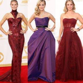 2013 Emmy Red Carpet. Best & WorstDressed.