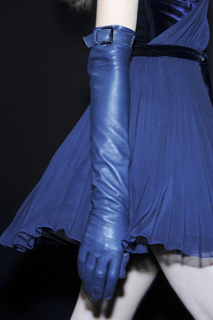 Good-Bye Long Sleeves, Hello Long Leather GLOVES! – The ...