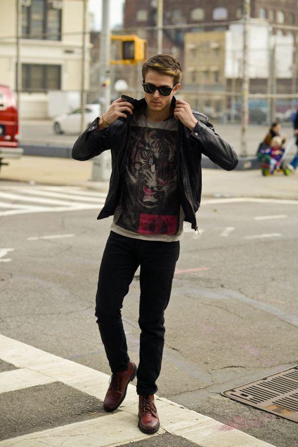 men-leather-jacket-streetstyle