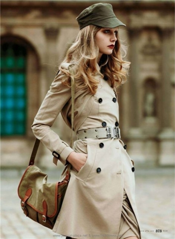 military-trench-style