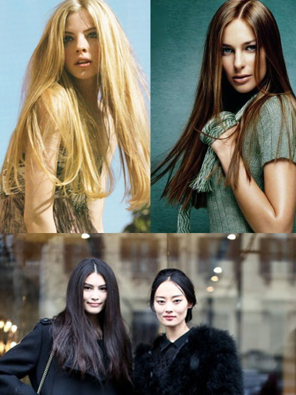one-length-hair