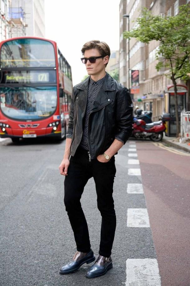 street-style-men-leather-jacket