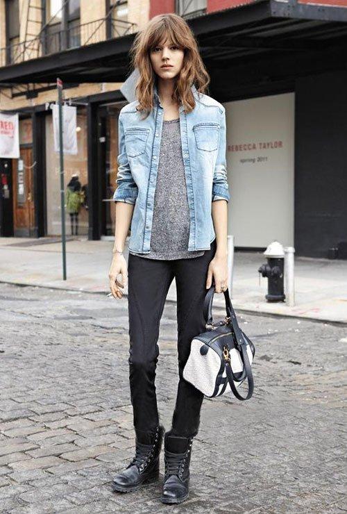 street-style-motorcycle-boots-denim-jacket