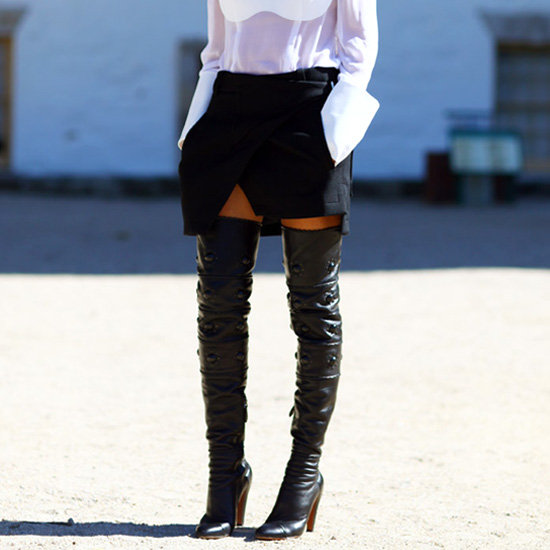 Thigh High Skirt