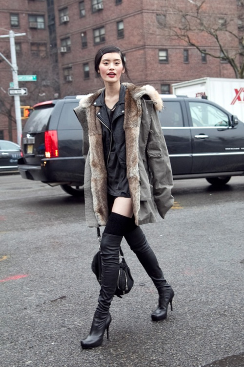 thigh-high-boots-stiletto-parka-street-style