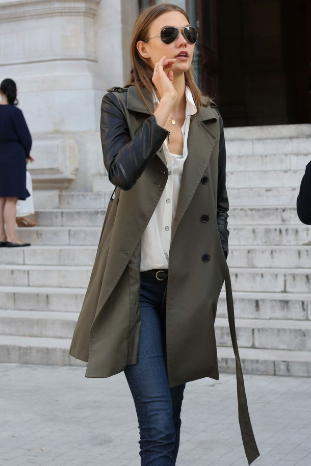 trench-coat-leather-sleeves-street-style