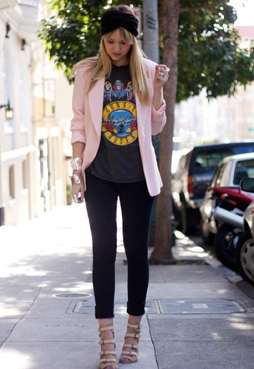 Resultado de imagem para street style look t shirt