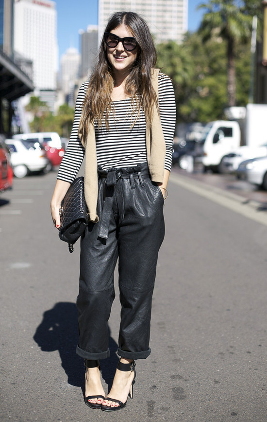 baggy-leather-trousers-street-style