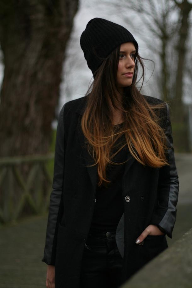 black-beanie