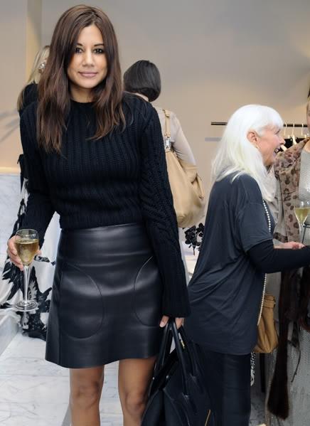 black-mini-leather-skirt