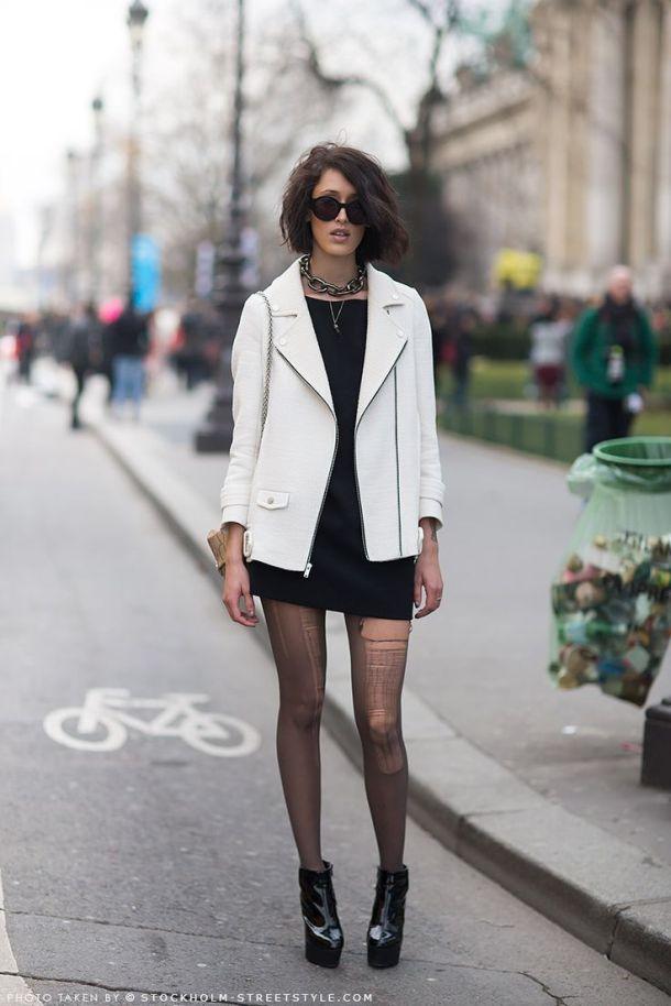grunge-look-white-leather-jacket