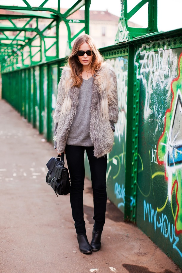 how-to-wear-fur-coats