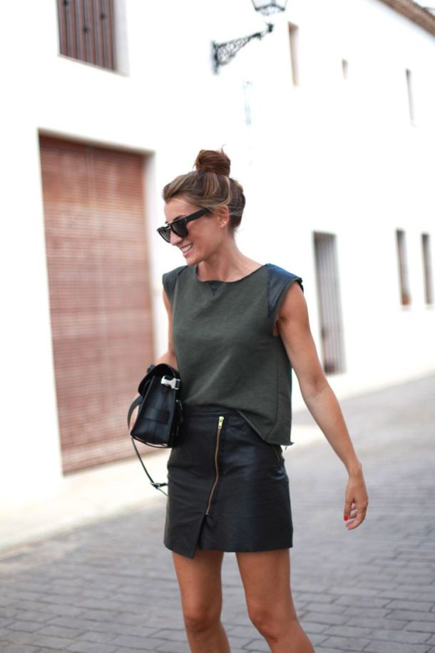 leather-skirt-style
