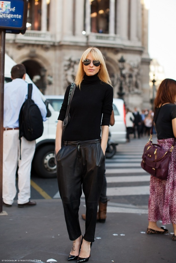 oversize-leather-pants-streetstyle