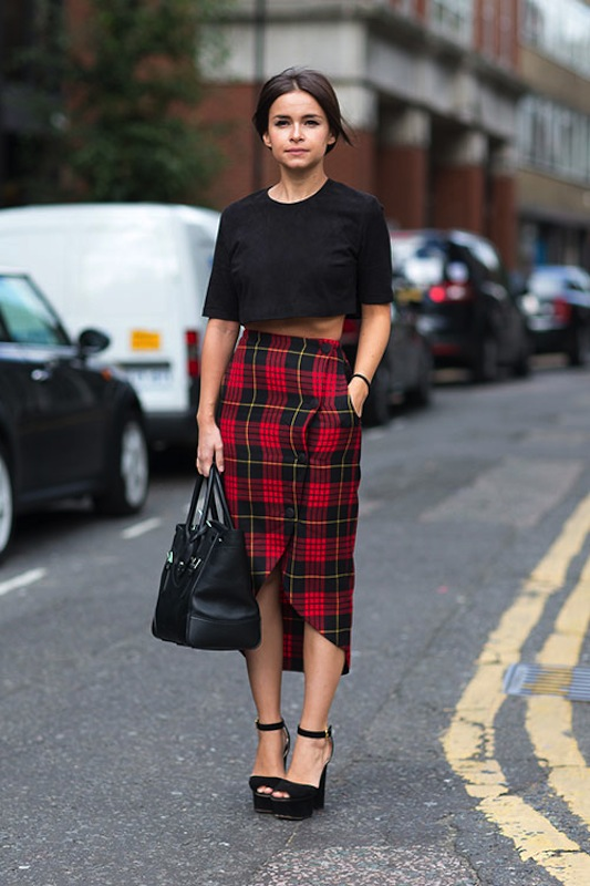 plaid-skirt
