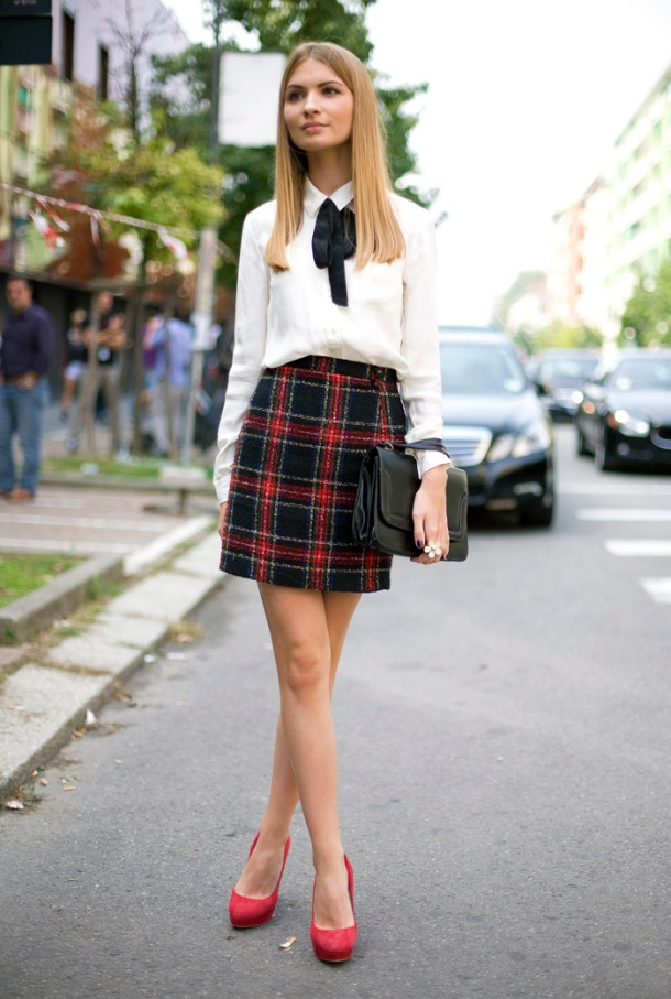 street-style-plaid-skirt