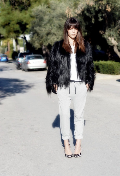 streetstyle-trend-sweatpants-and-heels