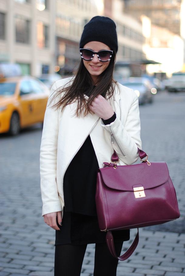 streetstyle-white-leather-jacket