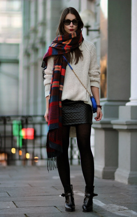 long-scarf-look