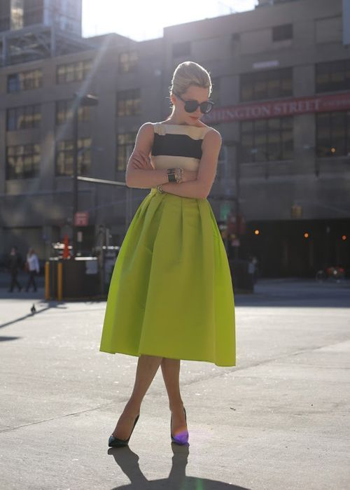 skirts is midi the new mini fashion tag